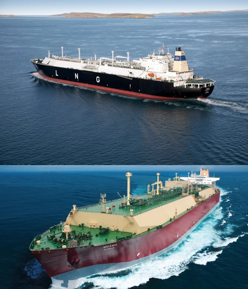 Latest LNG ships