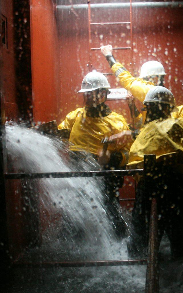Ship water ingress