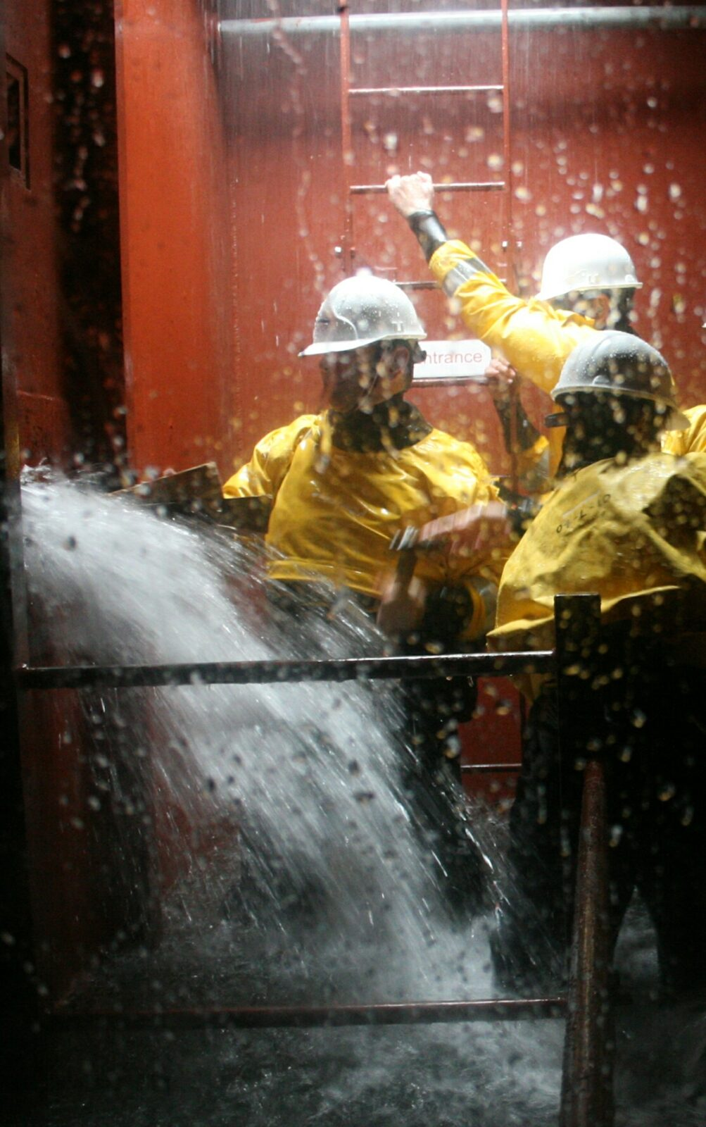 How to respond to flood incident On board