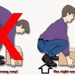 Proper Lifting Techniques at work