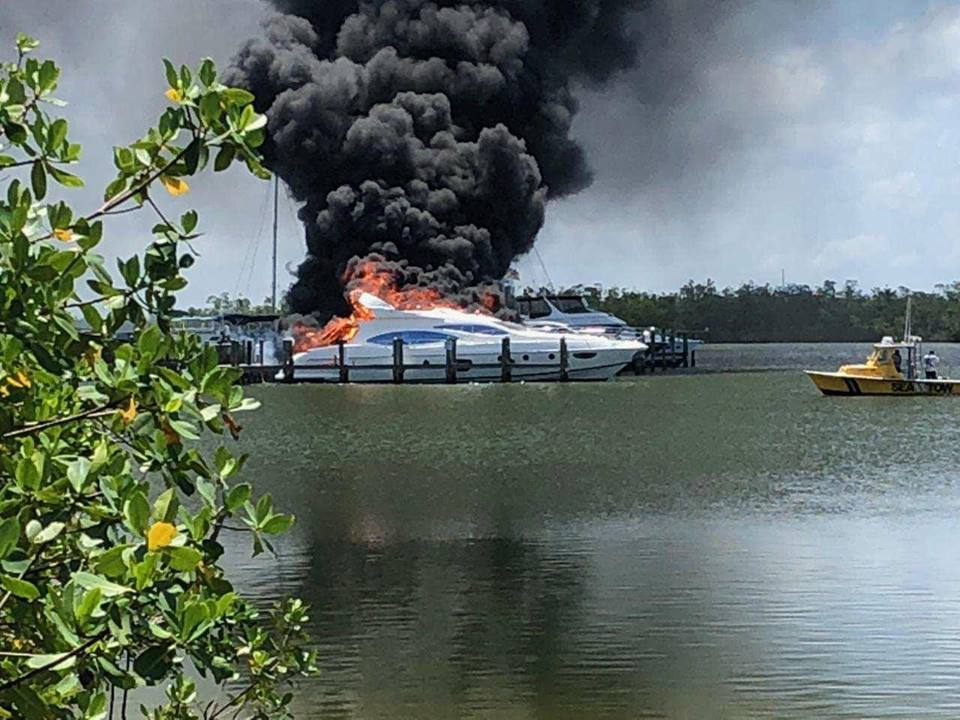 Big Loss as a boat Cut fire