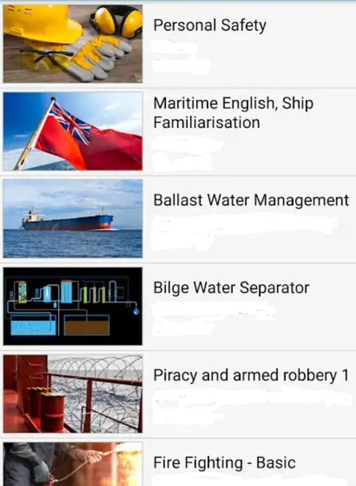 Free Maritime English Software