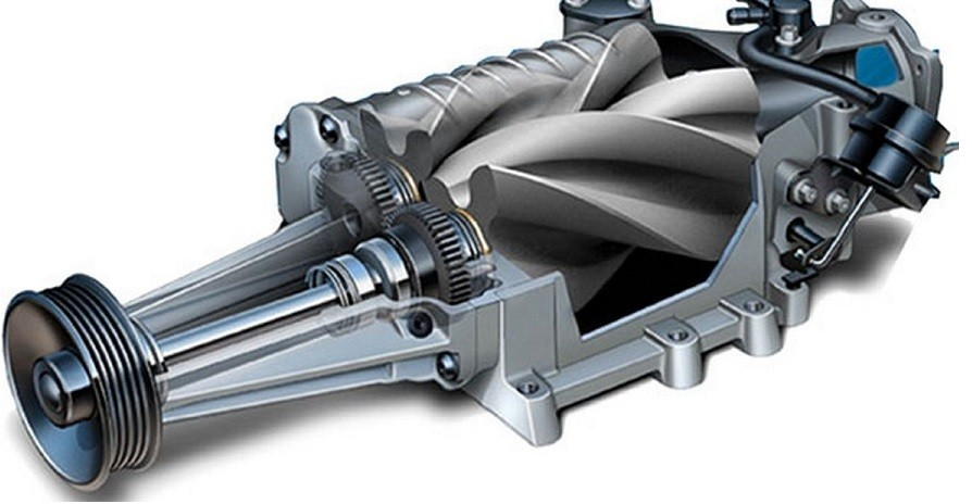 Engine supercharger