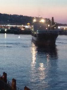 ship near miss