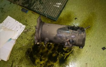 AC Compressor Explosion:  Two ship crews seriously injured