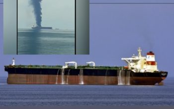 Video: VLCC Tanker ZOYA 1 On fire off Sharjah