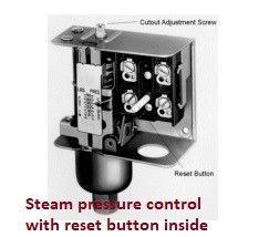Boiler-steam-pressure-controller